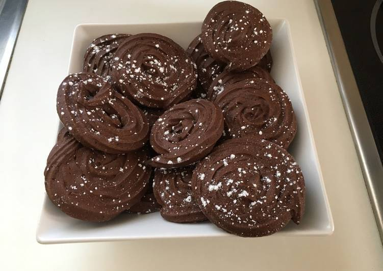 Galletas de chocolate sin gluten