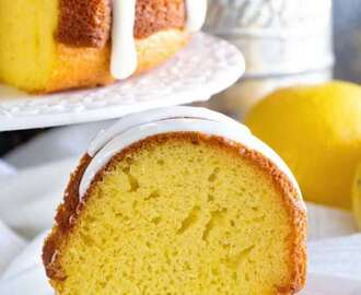 Lemon Bundt Cake with Lemon Frosting