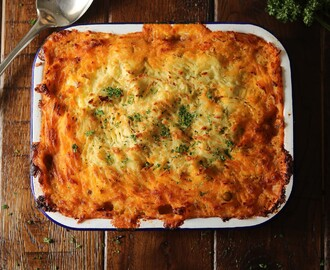Shepherd's Pie with Colcannon Topping