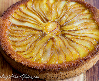 Gluten Free Pear and Almond Cake