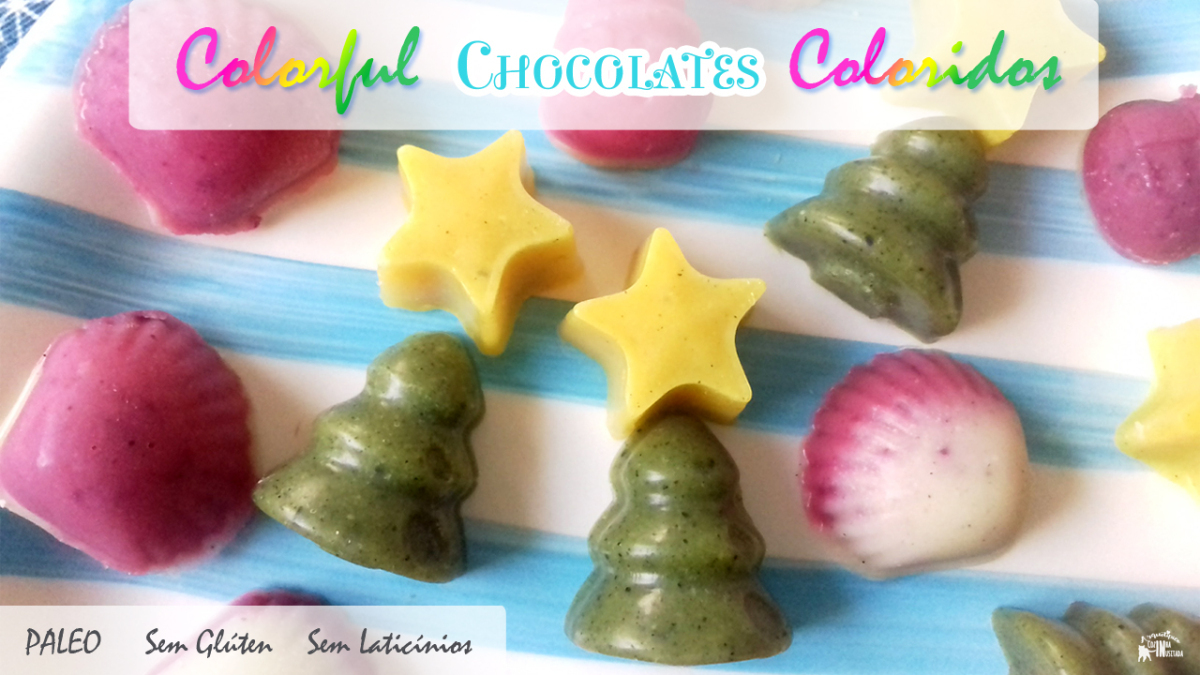 Chocolates Coloridos Paleo – Paleo Colorful Chocolates
