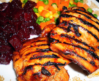 February 2010 - Tangy Honey and Mustard Chicken
