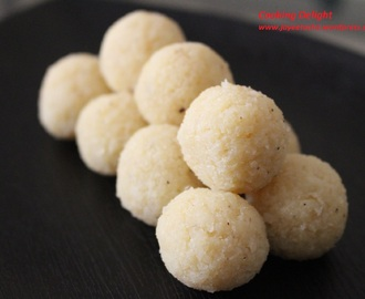 Coconut Laddu with Sugar (Chinir Narkel Naru)