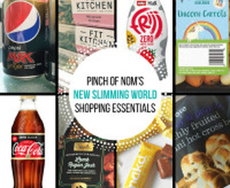 New Slimming World Shopping Essentials – 17/3/17