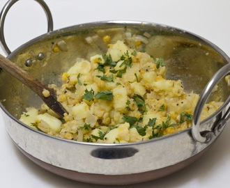 Dal And Potatoes, A Simple, Easy, Meatless Meal