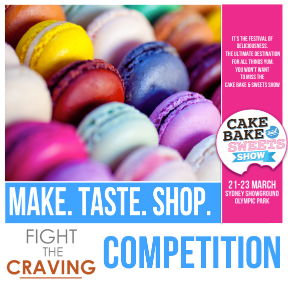 [GIVEAWAY SPECIAL] Cake, Bake and Sweets Sydney Show