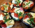 Portabello Mushrooms Caprese