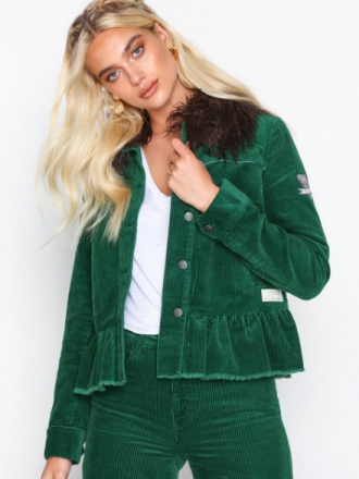 Odd Molly sincerely jacket Jeansjackor Green