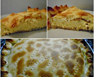 TARTA DE RICOTA SIMPLE  (SALADA)
