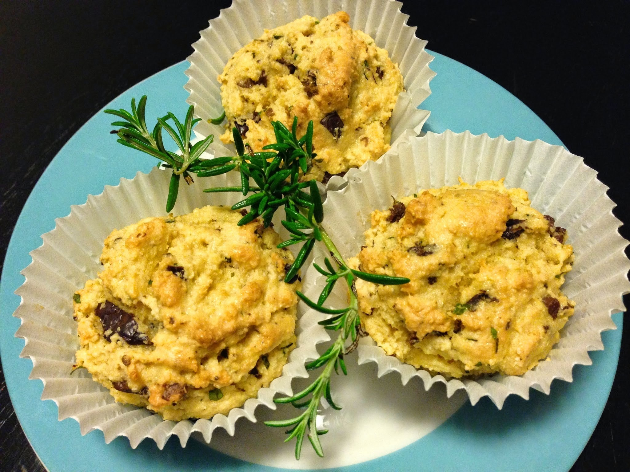 Olive and Herb Savoury Muffins