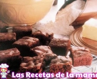 Receta de Brownie de chocolate con avellanas