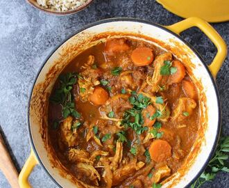 Paleo Moroccan Chicken Stew