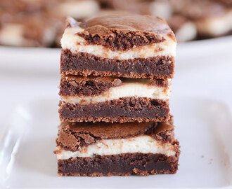 Cream Cheese Brownies {a.k.a. Cheesecake Brownies}