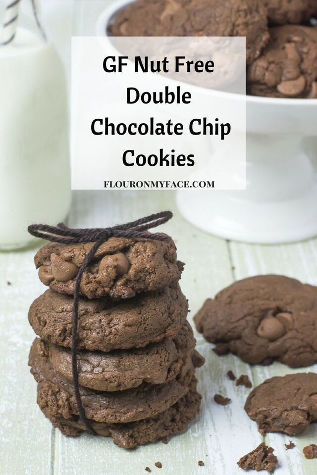 Nut Free Double Chocolate Chip Cookies