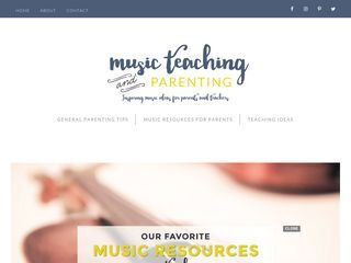 Cooking Club / On Music Teaching and Parenting