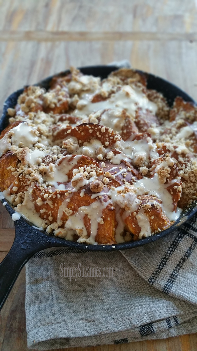 the ultimate Fall brunch . . . baked french toast, brown sugar bacon, sweet potato hash and more