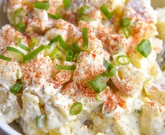 Potato Salad with Eggs Recipe