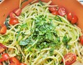 Simple Zucchini Linguine