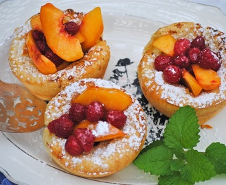 Individual Puff Pancakes ~ Breakfast on the Back Porch