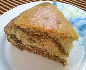 Eggless Layered Cake
