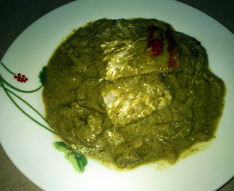 Fish in a Green Gravy