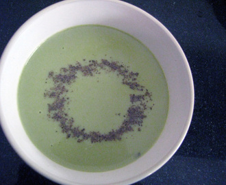 Green Pea Peel Soup