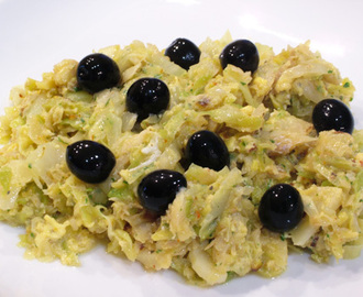 Bacalhau à Brás light