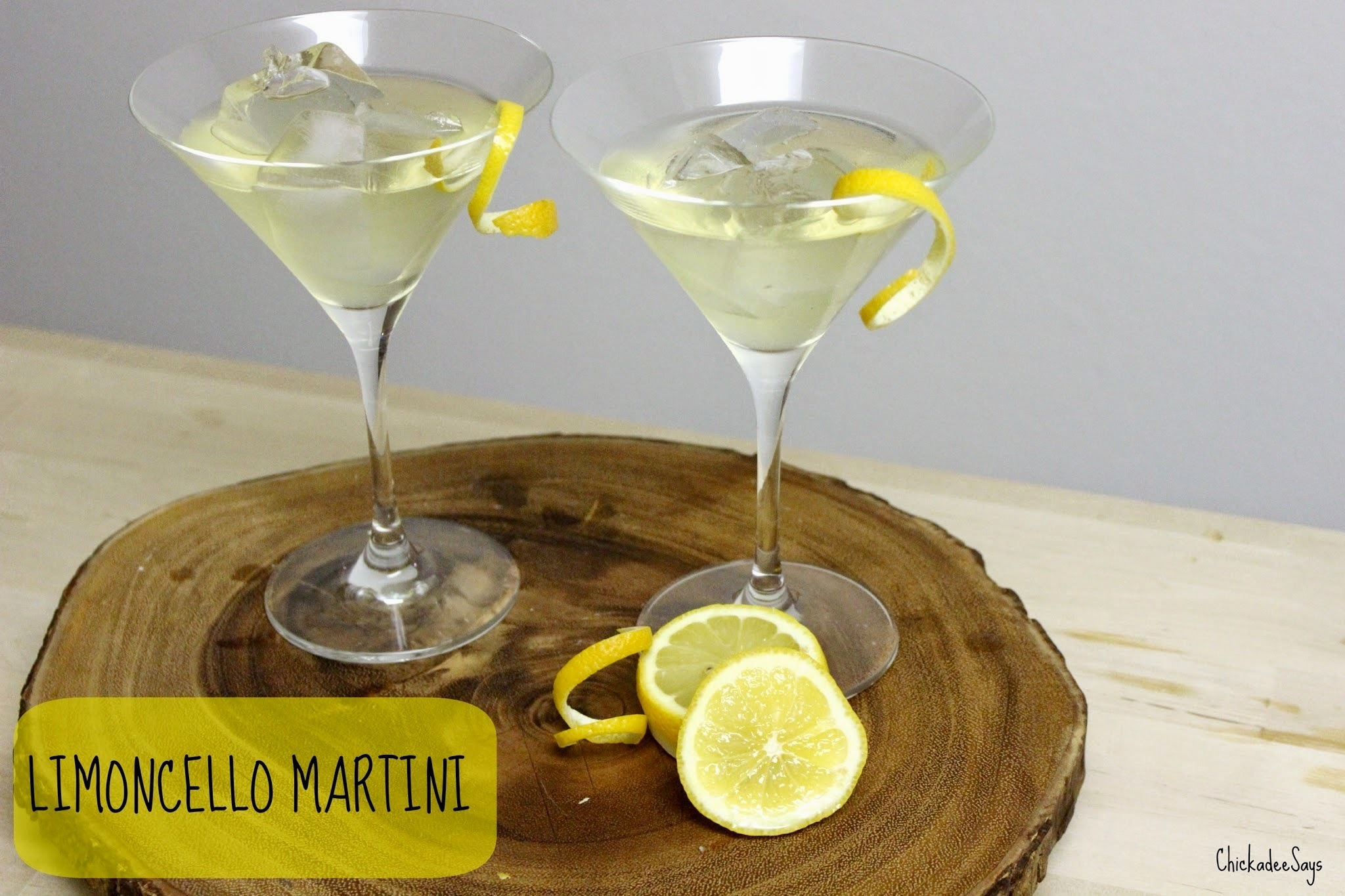 Summer Drink Series: Limoncello Martini