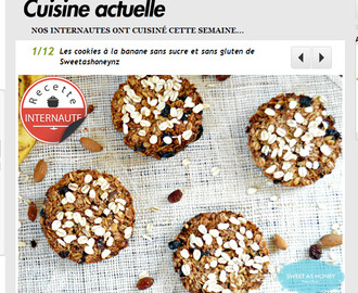 First page of The Cuisine Actuelle Weekly Contest