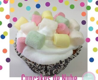 Cupcakes de Marshmallows (nubes)