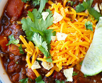 Vegetarian Chili Recipe (My Favorite)