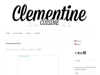 Clementine Cuisine | Food. Oh yeah.