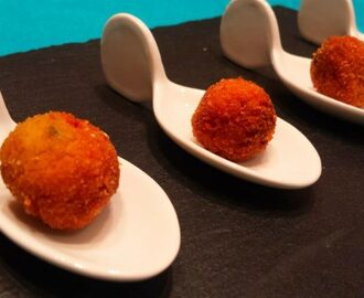 Finger food di polpettine di soia