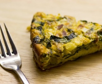 Self-Crusting Quiche