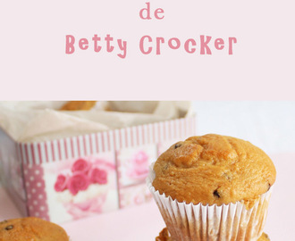 Muffins de Chips de Chocolate de Betty Crocker