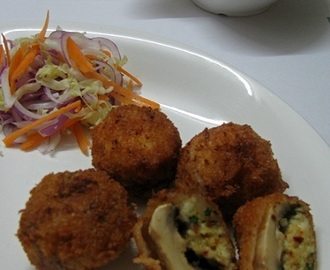 Stuffed  fried Mushroom