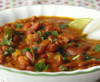 Indian Rajma - Red Kidney Beans Curry Recipe