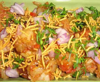 Indian Aloo (Potatoes) Chaat Recipe