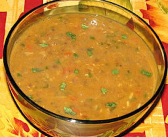 Masoor Dal Fry (Red Lentil Curry) Recipe
