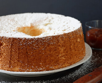 Angel cake, ricetta light