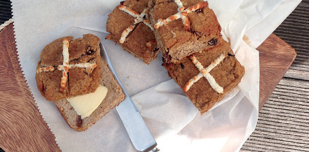 Paleo Hot Cross Buns