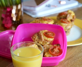 Incorporating Orange Juice into your child's diet, and a recipe for Breakfast Muffins