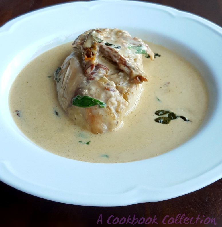 Chicken with Creamy Sundried Tomato Sauce