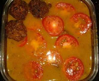 Cabbage Kofta Curry