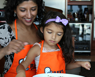 Cooking with Sienna: Greek Spinach and Rice Pie- a Celebration of International Cook with Your Kids Day