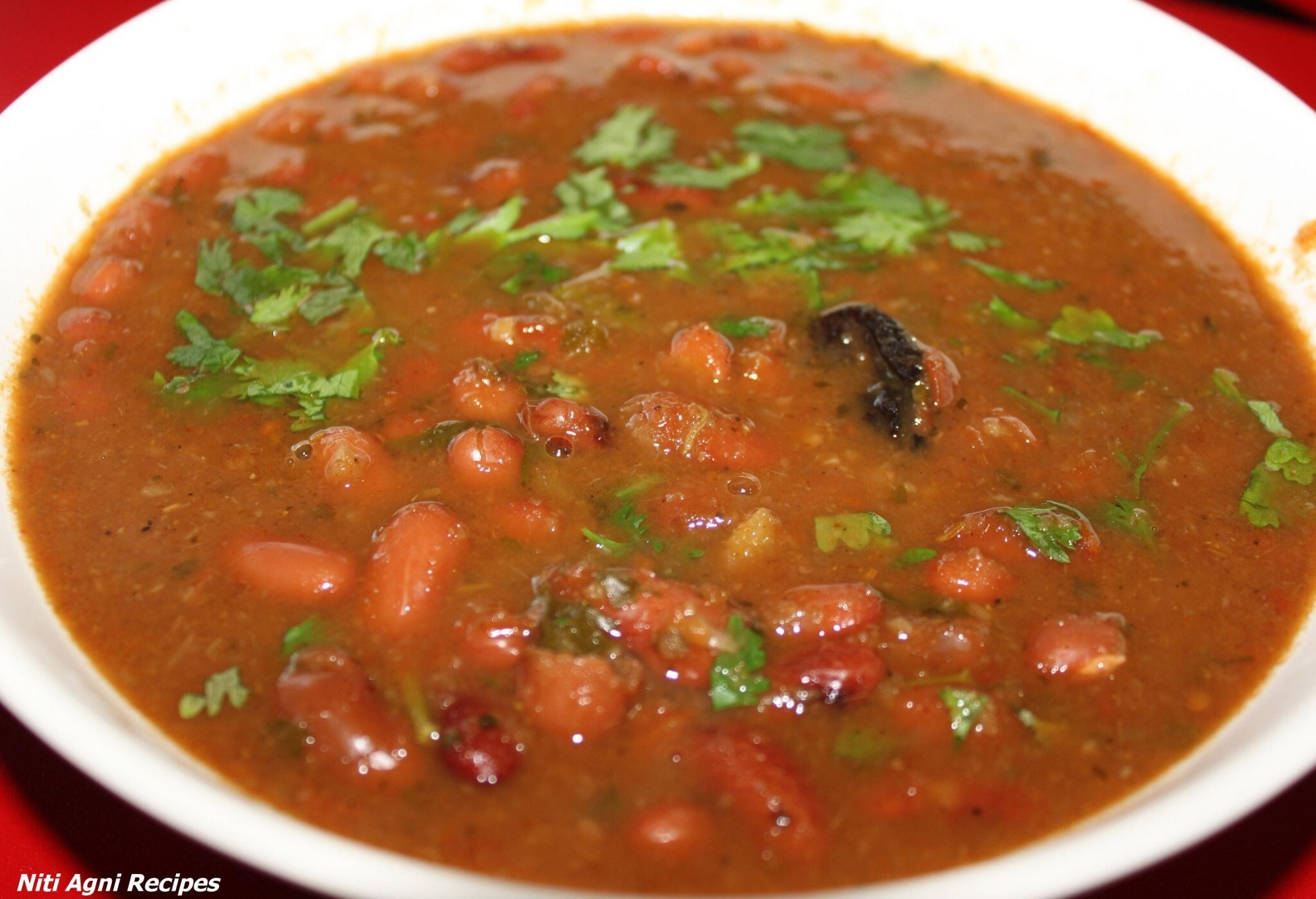 Rajmah Masala/Red Kidney Beans Curry