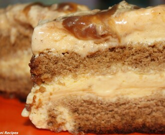 Butterscotch Ice Cream Cake