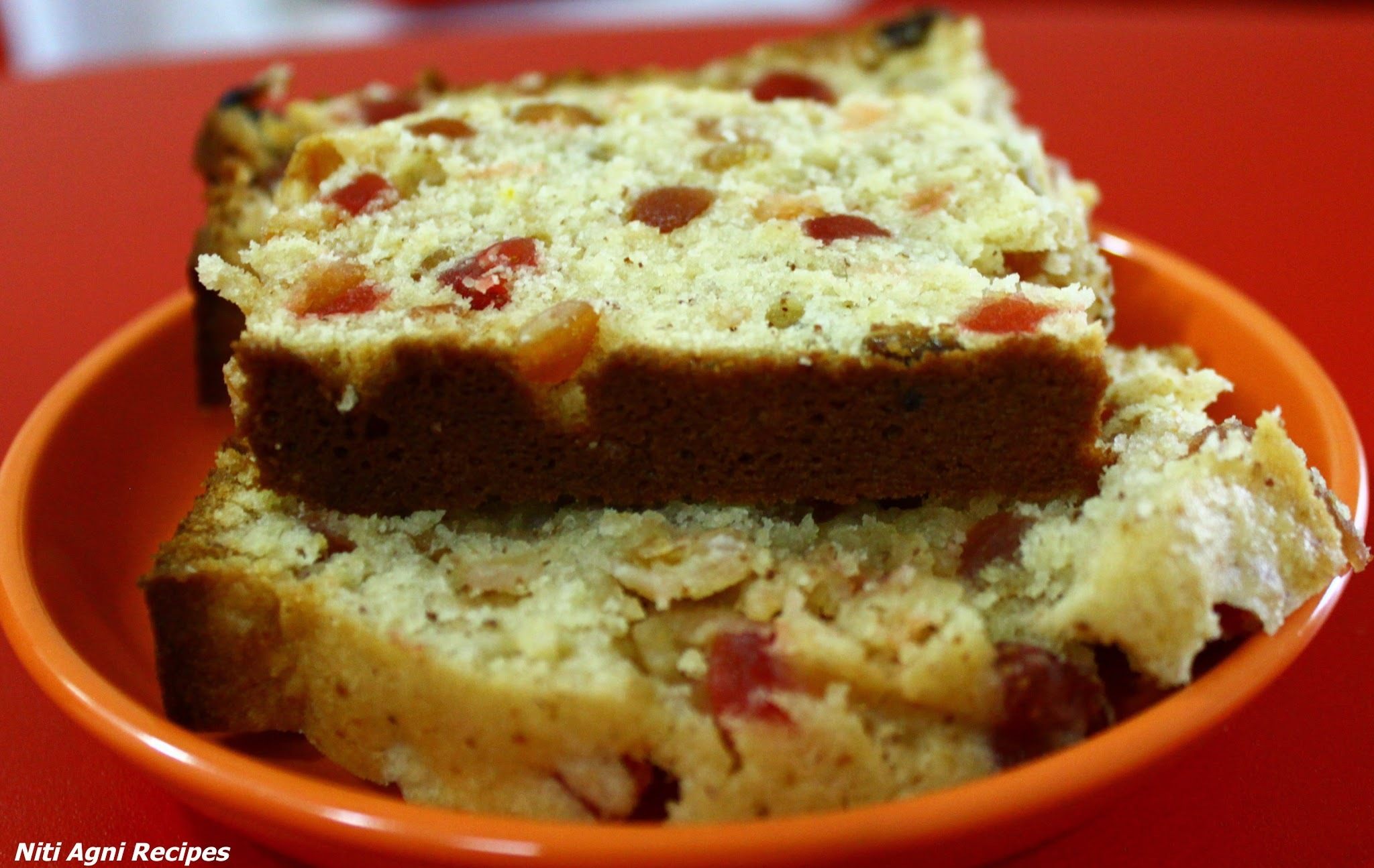 Fruit Cake (No alcohol)