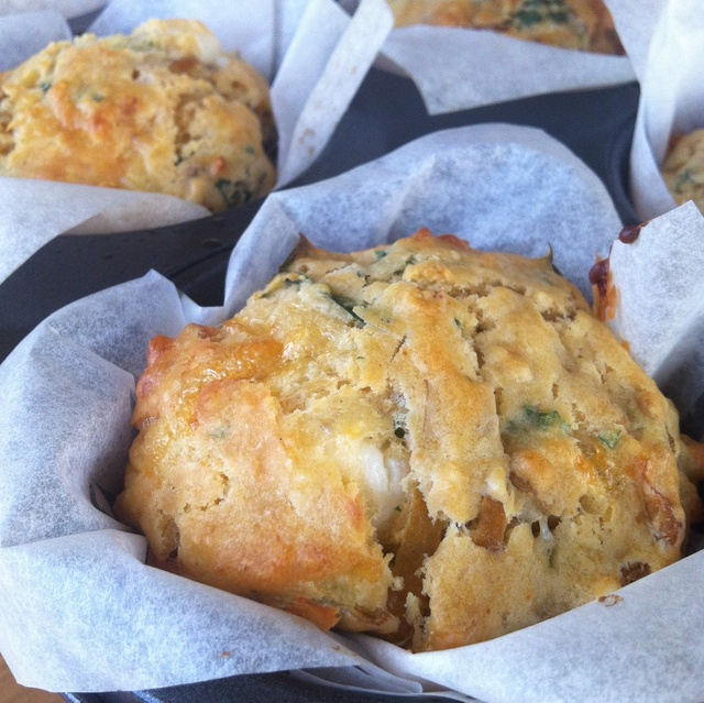 Caramelized Onion Muffins