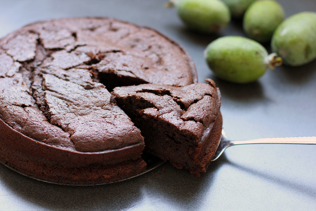 Chocolate Feijoa Cake